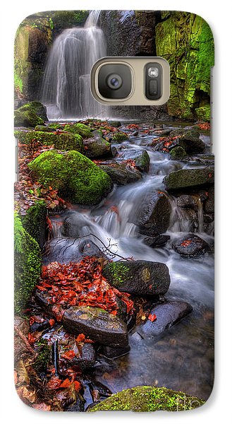 Galaxy Case featuring the photograph Lumsdale Falls 4.0 by Yhun Suarez