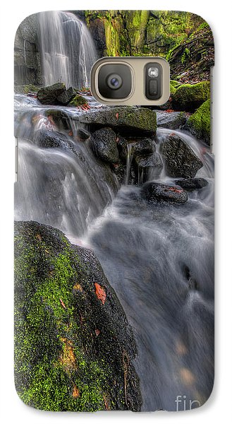 Galaxy Case featuring the photograph Lumsdale Falls 5.0 by Yhun Suarez