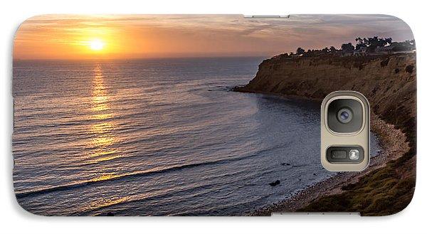 Lunada Bay Sunset Galaxy S7 Case