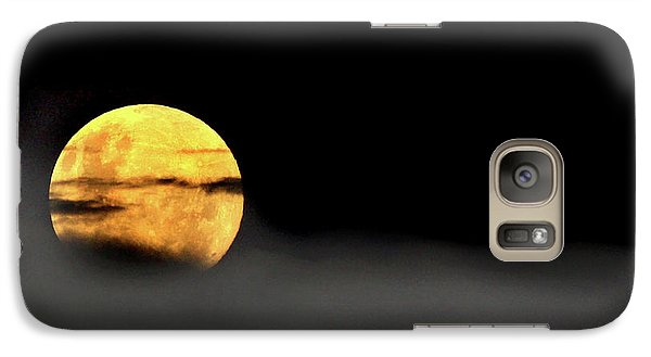 Galaxy Case featuring the photograph Lunar Mist by Marion Cullen