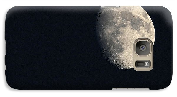 Galaxy Case featuring the photograph Lunar Surface by Angela Rath