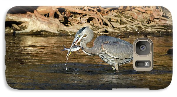 Galaxy Case featuring the photograph Lunch On The Neuse River by George Randy Bass