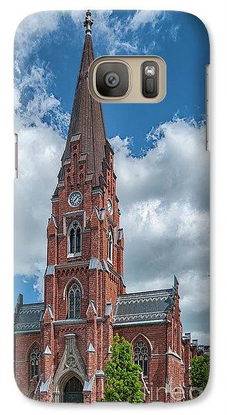 Galaxy Case featuring the photograph Lund All Saints Church by Antony McAulay