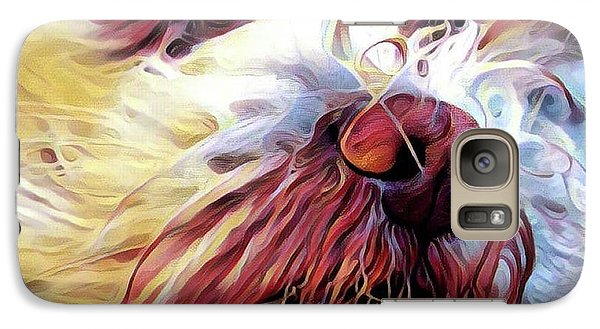 Galaxy Case featuring the digital art Lupi by Judy Morris
