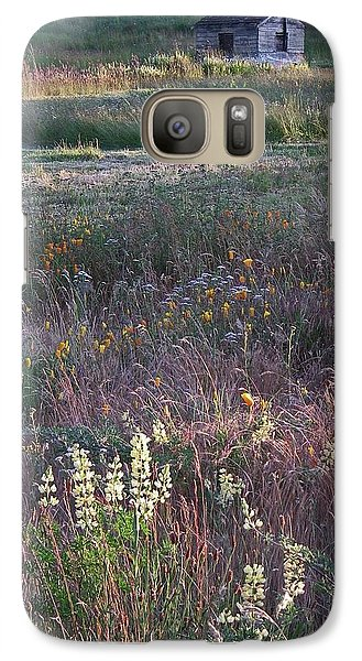 Galaxy Case featuring the photograph Lupine by Laurie Stewart