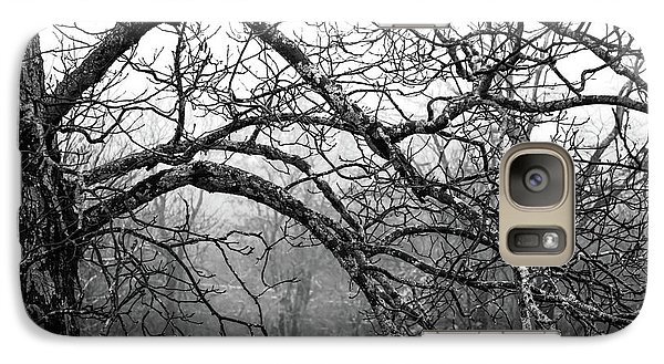 Galaxy Case featuring the photograph Lure Of Mystery by Karen Wiles
