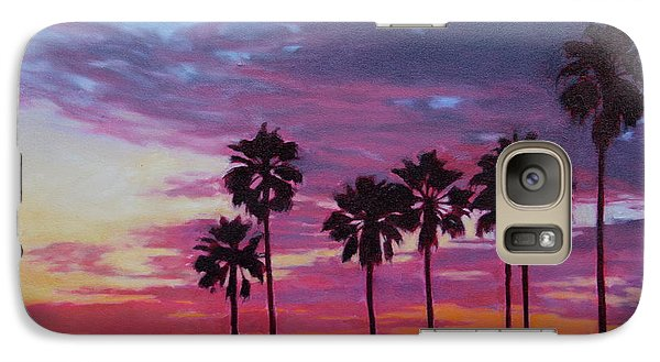 Galaxy Case featuring the painting Lush by Andrew Danielsen
