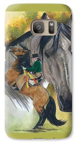 Galaxy Case featuring the painting Lusitano by Barbara Keith