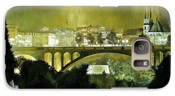 Galaxy Case featuring the painting Luxembourg by Michael Frank