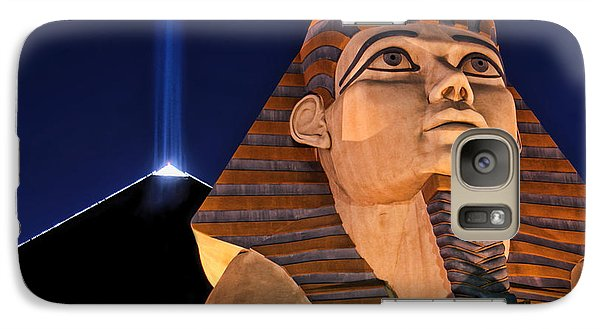 Galaxy Case featuring the photograph Luxor by Tammy Espino