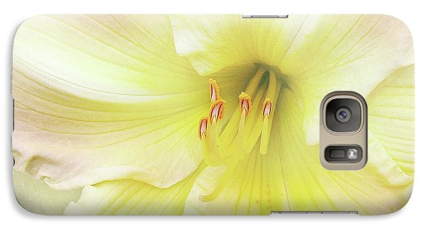 Galaxy Case featuring the photograph Luxurious Lily by Kathi Mirto