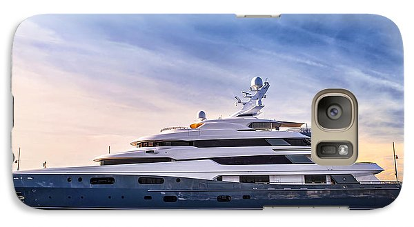 Boat Galaxy S7 Case - Luxury Yacht by Elena Elisseeva