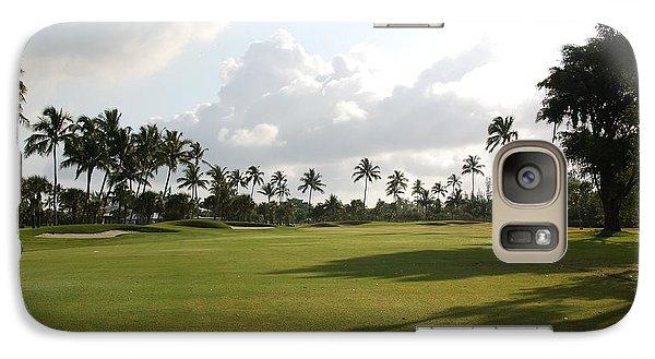 Galaxy Case featuring the photograph Lyford Cay Golf Club The Bahamas by Jan Daniels