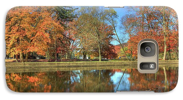 Galaxy Case featuring the photograph Lykens Glen Reflections by Lori Deiter