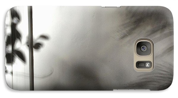 Galaxy Case featuring the photograph Lysiloma Shadows by Kim Nelson