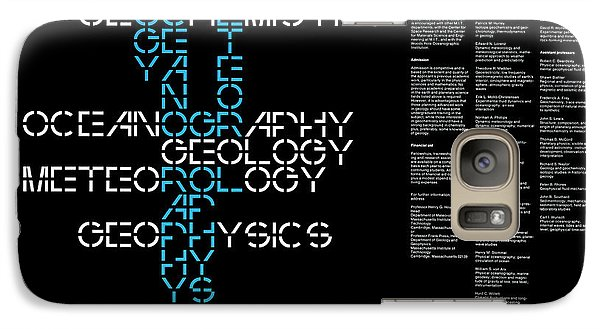 Galaxy Case featuring the photograph M. I. T. Graduate Program  1960s by Daniel Hagerman
