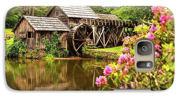 Galaxy Case featuring the photograph Mabry Mill by Rebecca Hiatt