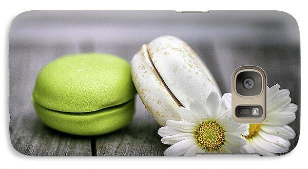 Daisy Galaxy S7 Case - Macarons by Nailia Schwarz