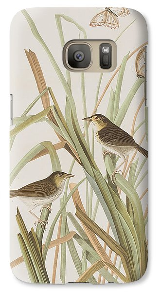 Macgillivray's Finch  Galaxy S7 Case by John James Audubon