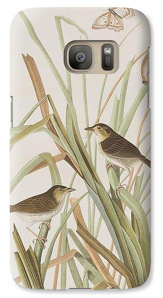 Macgillivray's Finch  Galaxy S7 Case by John James Audubon