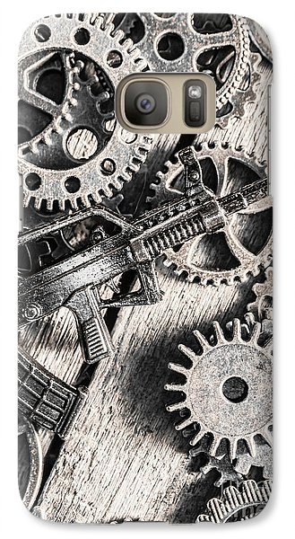 Machines Of Military Precision  Galaxy S7 Case by Jorgo Photography - Wall Art Gallery
