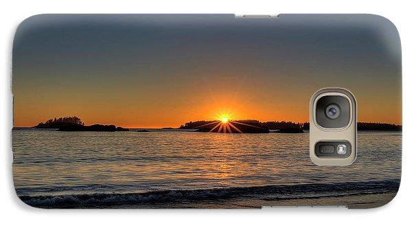 Mackinsie Beach Sun Burst Galaxy S7 Case