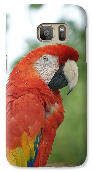 Galaxy Case featuring the photograph Macraw by Heidi Poulin