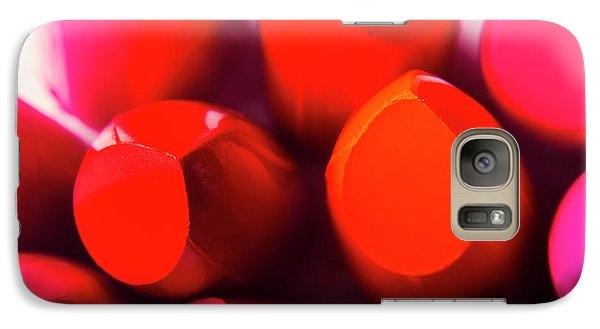 Galaxy S7 Case featuring the photograph Macro Cosmetic Art by Jorgo Photography - Wall Art Gallery