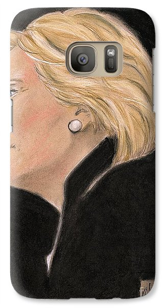 Madame President Galaxy S7 Case by P J Lewis