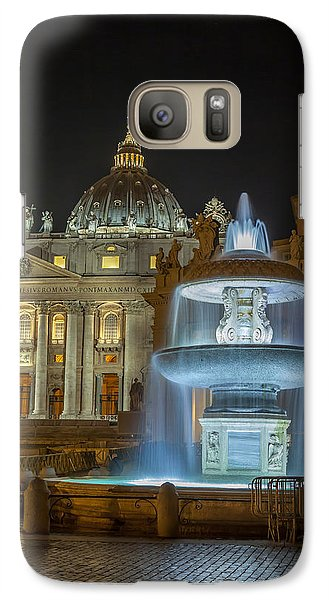 Galaxy Case featuring the photograph Maderno's Fountain by Ed Cilley