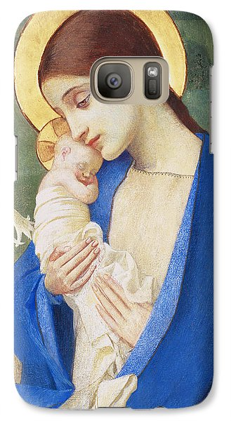 Religion Galaxy S7 Case - Madonna And Child by Marianne Stokes