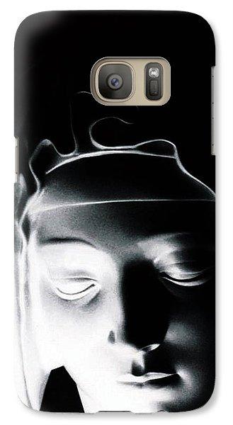 Galaxy Case featuring the photograph Madonna by Joseph Frank Baraba