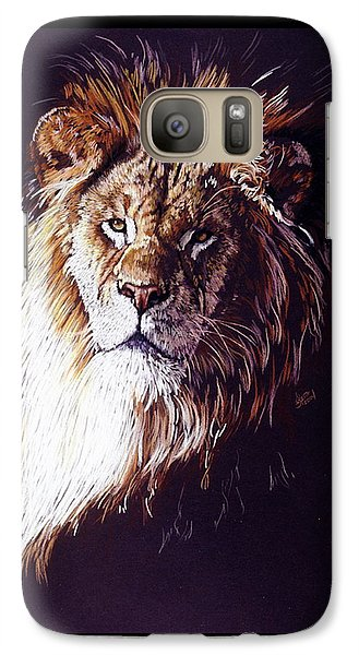 Galaxy Case featuring the drawing Maestro by Barbara Keith