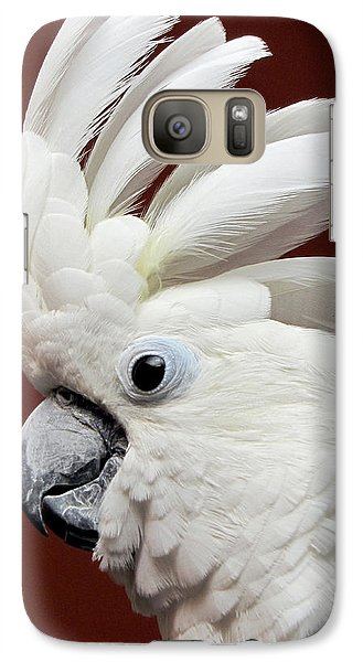 Maggie The Umbrella Cockatoo Galaxy S7 Case