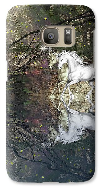 Galaxy Case featuring the photograph Magic by Diane Schuster