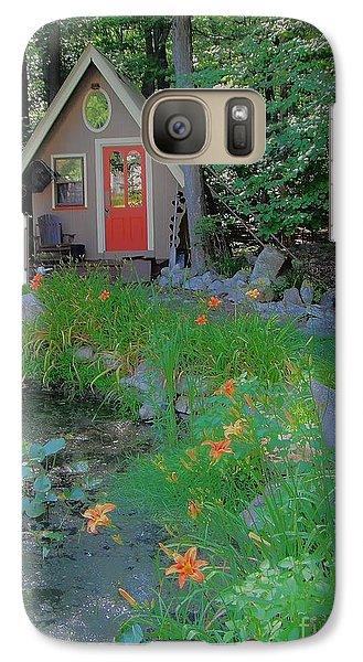 Galaxy Case featuring the photograph Magic Garden by Susan Carella