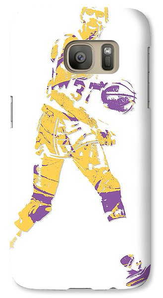 Magic Johnson Los Angeles Lakers Pixel Art 5 Galaxy S7 Case