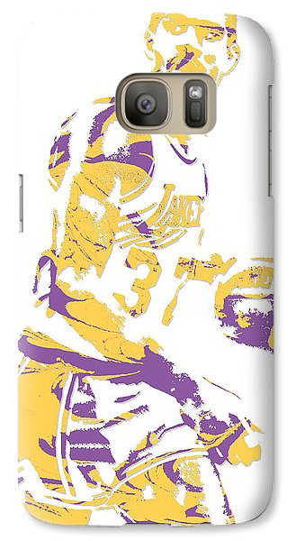 Magic Johnson Los Angeles Lakers Pixel Art 6 Galaxy S7 Case