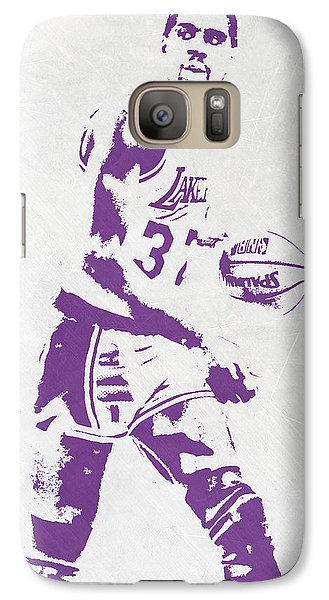 Magic Johnson Los Angeles Lakers Pixel Art Galaxy S7 Case