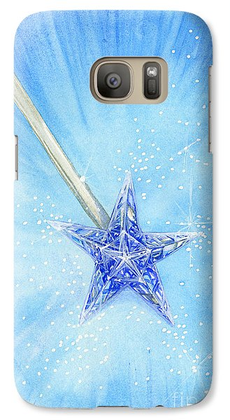 Galaxy Case featuring the painting Magic Wand by Cindy Garber Iverson