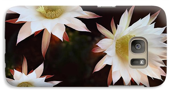 Galaxy Case featuring the photograph Magical Flower by Gina Dsgn