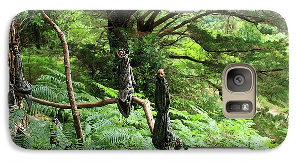 Galaxy Case featuring the photograph Magical Forest by Aidan Moran