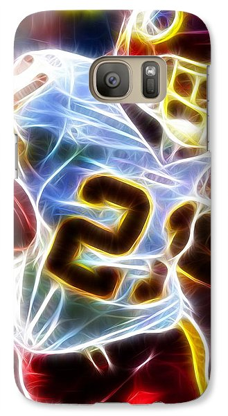 Galaxy Case featuring the painting Magical Sean Taylor by Paul Van Scott
