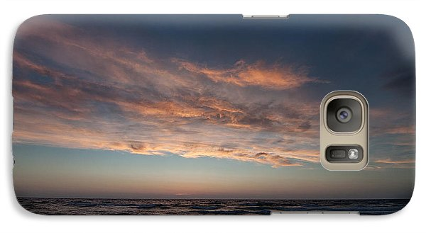Galaxy Case featuring the photograph Magical Sunset by Laura Melis