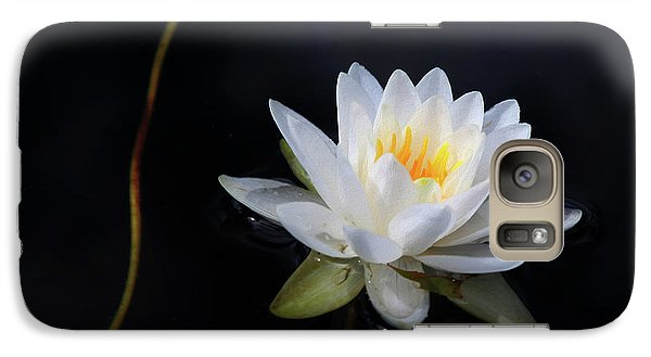 Galaxy Case featuring the photograph Magical Water Lily by Michelle Wiarda