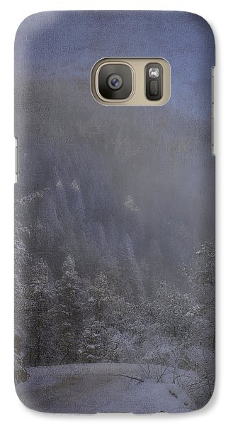 Galaxy Case featuring the photograph Magical Winter Day by Ellen Heaverlo