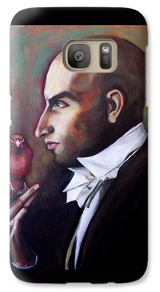 Galaxy Case featuring the painting Magician And Bird by Irena Mohr