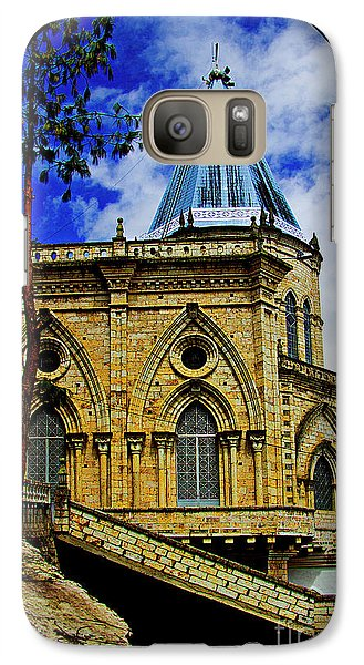 Galaxy Case featuring the photograph Magnificent Church Of Biblian by Al Bourassa