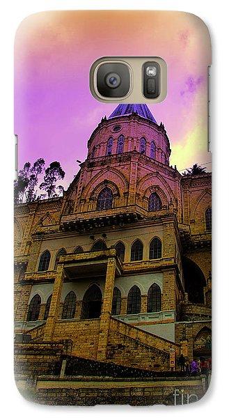 Galaxy Case featuring the photograph Magnificent Church Of Biblian II by Al Bourassa