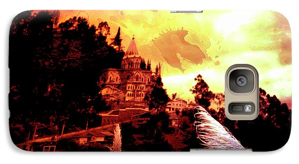 Galaxy Case featuring the photograph Magnificent Church Of Biblian IIi by Al Bourassa